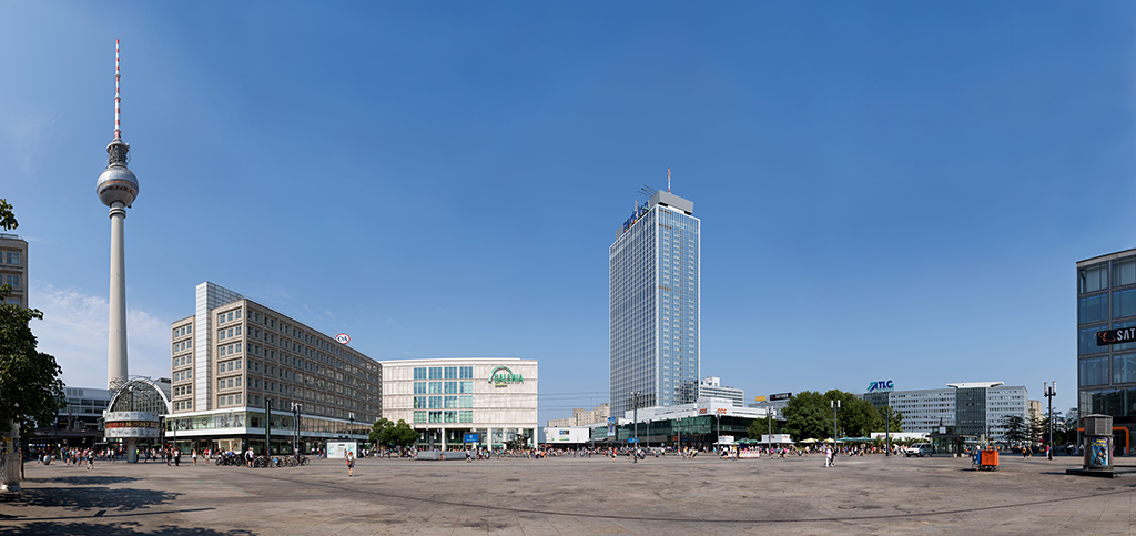 Alexanderplatz in Berlin - Panorama