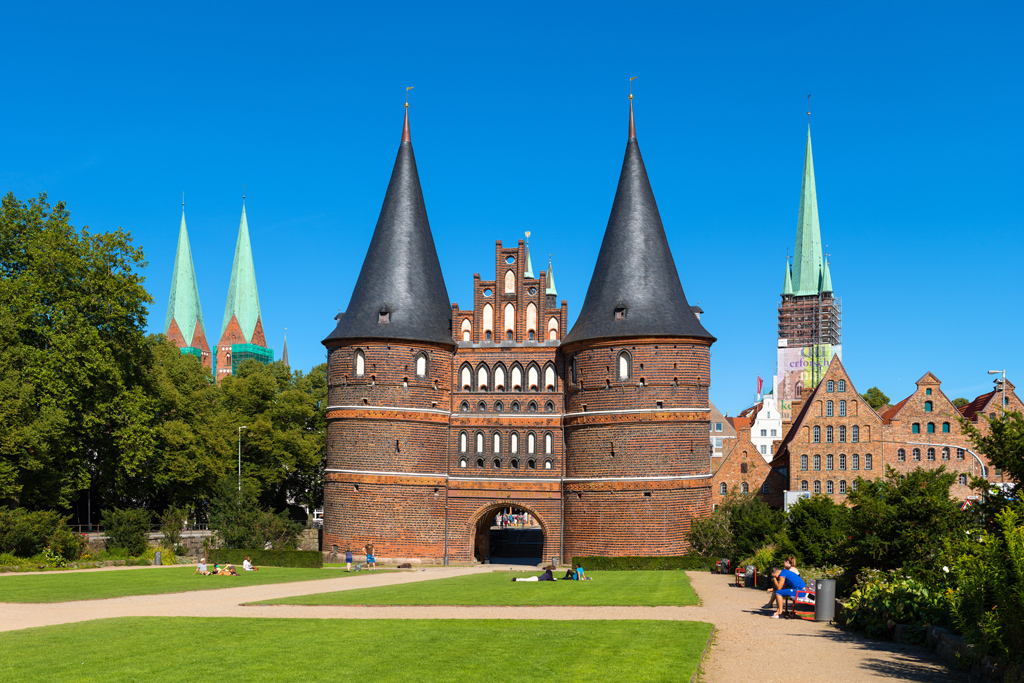 Holstentor in Lübeck 2015